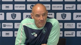 Avant HAC - Paris FC, interview de Paul Le Guen