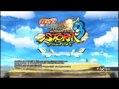 Cara Download Di Android Game Naruto Shippuden Ultimate Ninja Storm 3 (Mod) PPSSPP