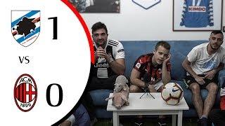 DISTRATTI! - SAMPDORIA 1-0 MILAN | REAZIONE LIVE GOL HD