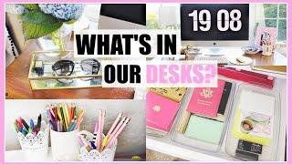 Desk Tour + Diy Desk DÉcor & Organization || Lauren & Emery
