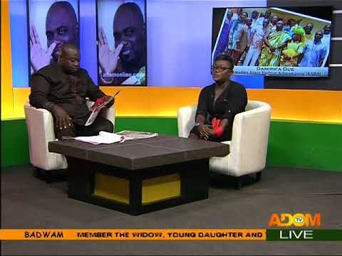 Badwam Newspaper Review on Adom TV (21-11-17)