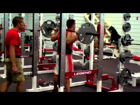 Mississinewa High School Weight Room Demo(1/2)