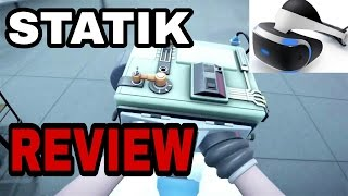 STATIK Review – PSVR ( PS4 )