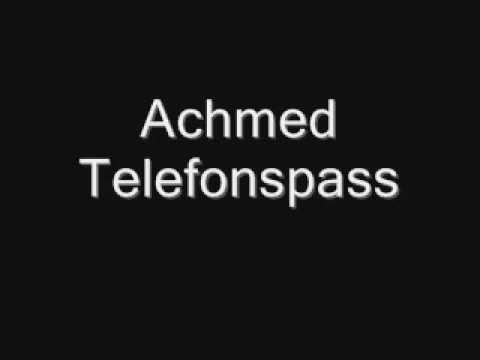 Achmed Telefonspass  AOL Hotline