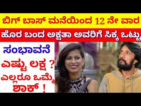 Bigg Boss Kannada Season 6 // Akshata Pandavapura Salary In Bigg Boss 6 // Bigg Boss Kannada 6