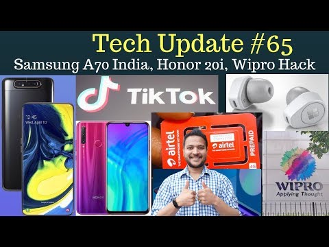 tiktok-banned,-microsoft-earbuds,-samsung-sell-2m-a-series,-honor-20i,-wipro-hack-tech-update-#65