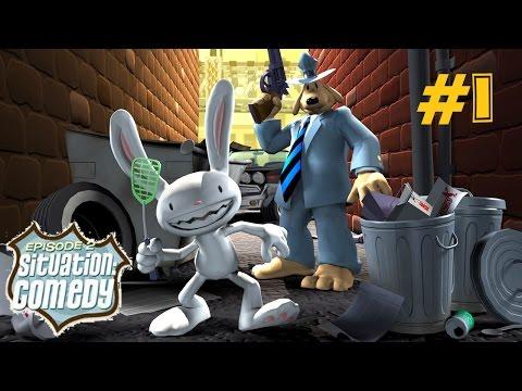 Sam & Max: Situation: Comedy ::: НЕМНОГО БЕЗУМНЫЙ ДУЭТ СНОВА В ДЕЛЕ!!! ::: Прохождение #1