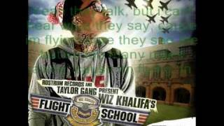 Wiz Khalifa - Sky High **LYRICS ON SCREEN** (Clean Version)