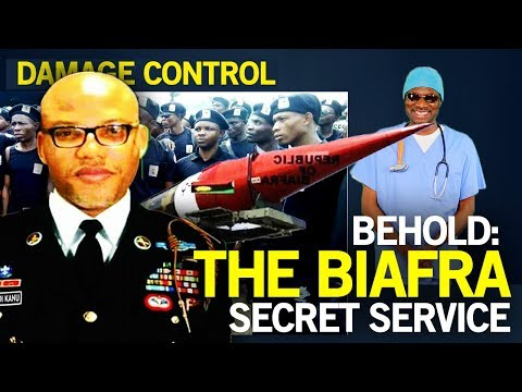 Damage Control: Behold: The Biafran Secret Service