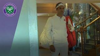 Wimbledon 2018 | Roger Federer returns to Centre Court