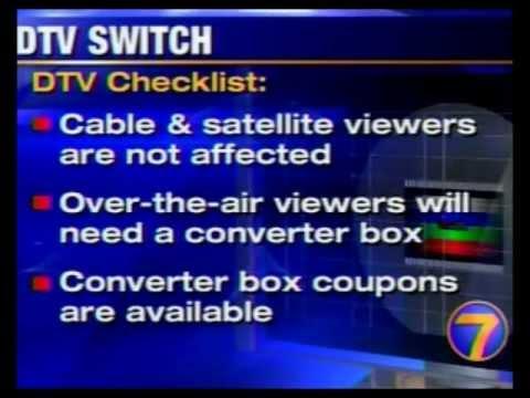WHIO~TV Channel 7 Dayton, Ohio ~ Analog Shutoff ~ 6-12-2009