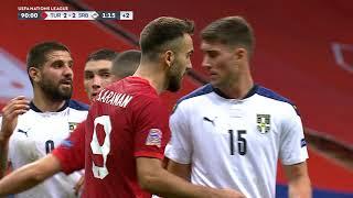Srbija Propustila Četiri Velike Šanse za Pobedu nad Turskom   SPORT KLUB FUDBAL