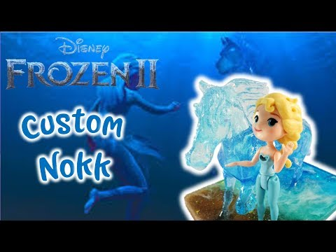 Frozen 2 Elsa's Magical Water Horse Nokk Custom - Condensed Tutorial