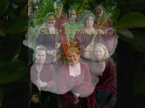 Medieval music - Ecco la primavera by Francesco Landini