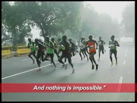 Airtel Delhi Half Marathon 2011, Post Charity Conference, Delhi