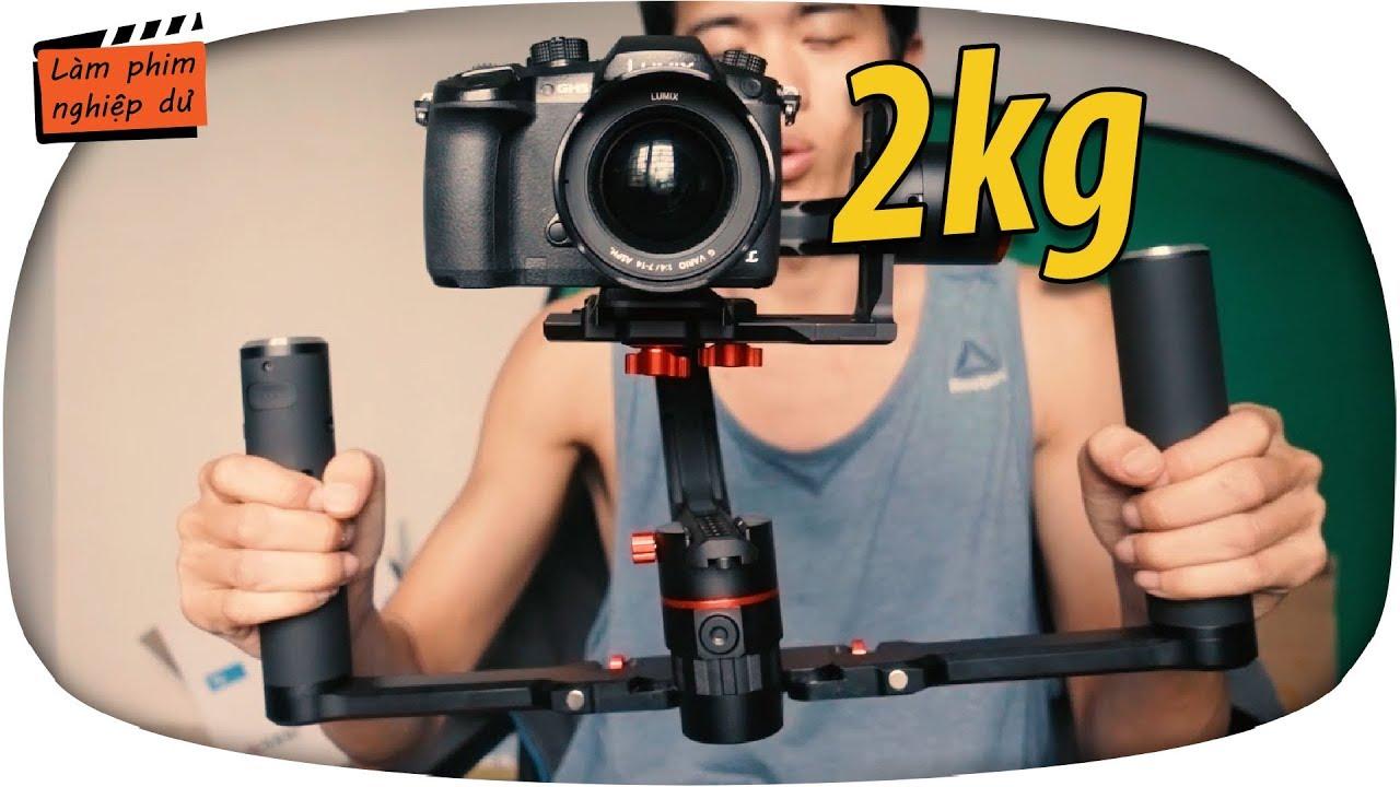 #56 Gimbal chống rung máy quay 2kg ✅Feiyutech – A2000