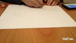 Speed drawing of Mercedes-Benz Maybach S 600.