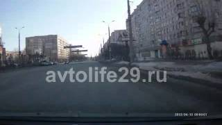 Экзаменационный маршрут ГИБДД г. Архангельска № 4(Часть 2., 2013-04-14T11:04:58.000Z)