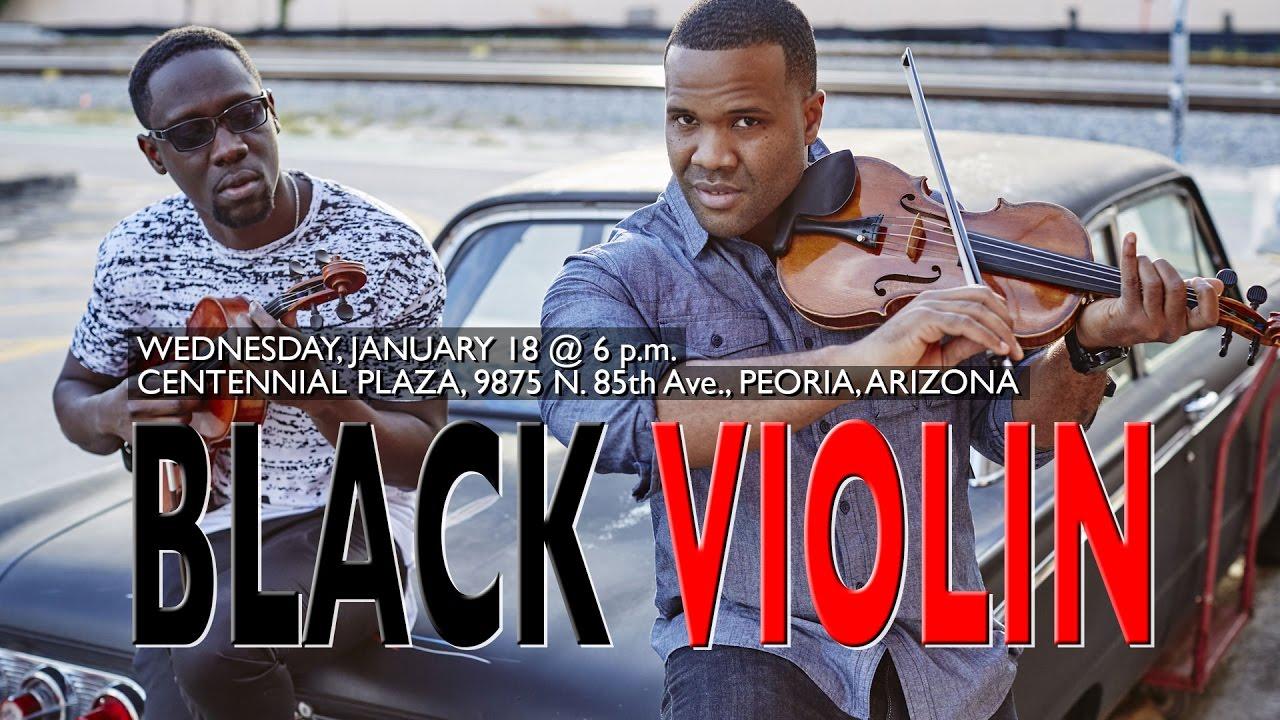 Black Violin - Coming to Peoria, AZ!