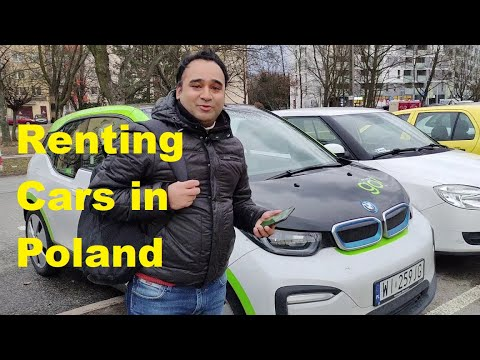 How to Rent a Car in Poland | BMW i3 | Innogy Go