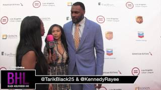 Tarik Black and Kennedy At LA Urban League Dinner