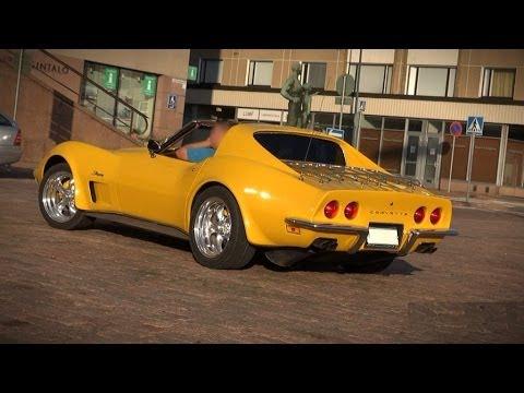 STUNNING 1973 Corvette Stingray Resto Mod - V8 sound and ...