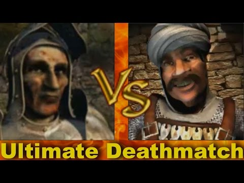 Rat vs Sultan - Ultimate Deathmatch | Stronghold Crusader AI-Battle |