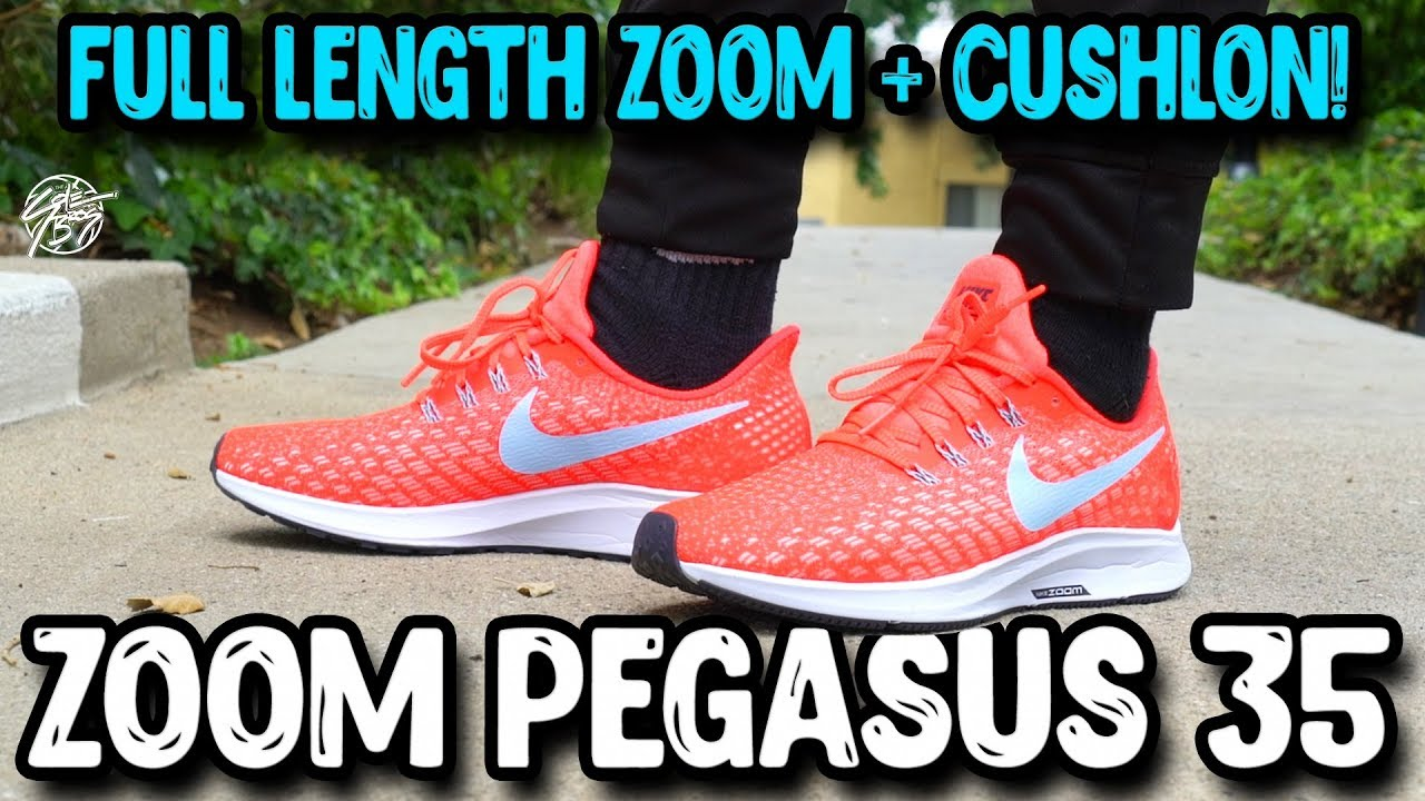 4fb4e9b4e28cb Nike Air Zoom Pegasus 35 Review! - YouTube