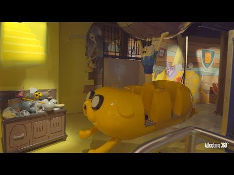 [4K] Adventure Time - The Ride With Finn & Jake - IMG Indoor Theme Park