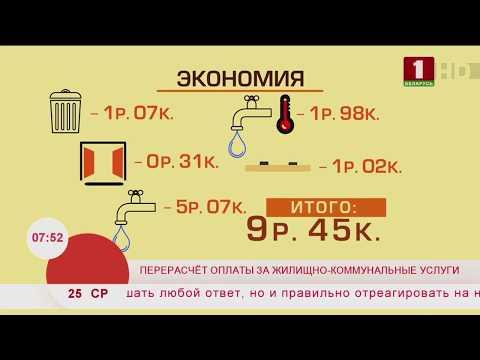 Перерасчет оплаты за жилищно-коммунальные услуги. Эфир 25.09.2019