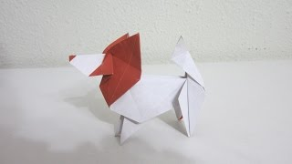 Introduction - Origami Dog (the Papillon)