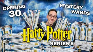 I OPENED 30 HARRY POTTER MYSTERY WANDS | SERIES 5 PATRONUS EDITION