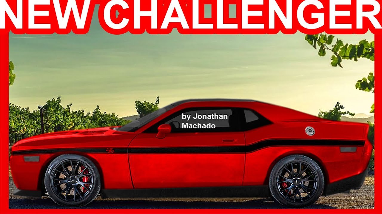 Photoshop Novo Dodge Challenger R T 2019 V6 Biturbo Alfa