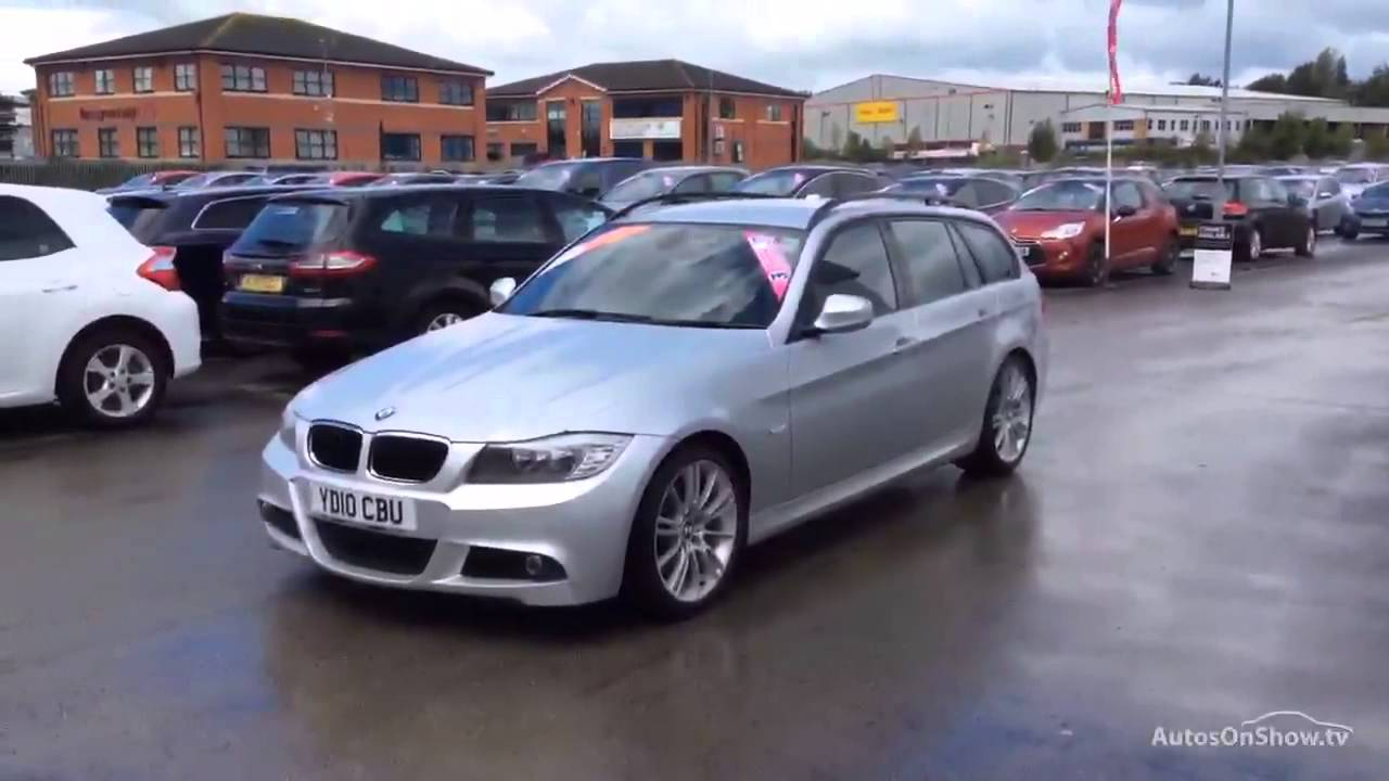 bmw 3 series 318d m sport business edition touring aluminium silver 2010 youtube. Black Bedroom Furniture Sets. Home Design Ideas