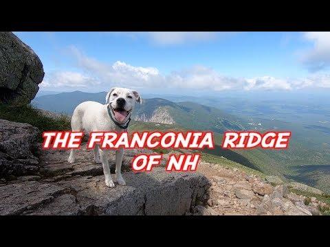 The Franconia Ridge of NH
