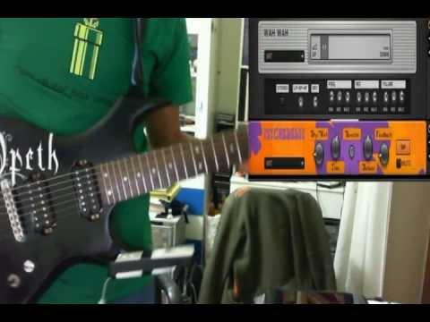 Wiimote as Guitar Rig MIDI controller