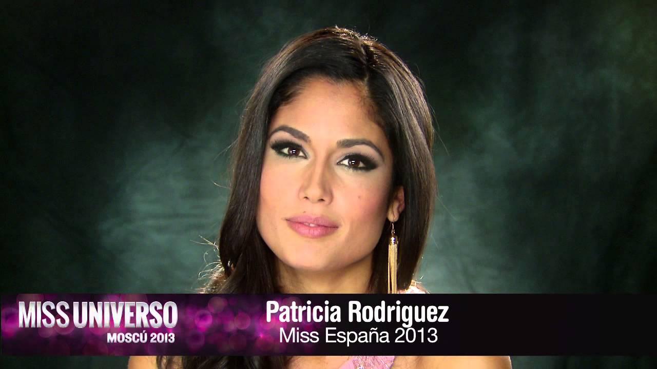 Patricia Rodriguez, Miss España 2013 dice que # quisiera ...