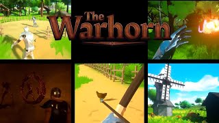 """Sound The Horn of Hype! """"The Warhorn"""" New Adventure & City Building Online RPG"""