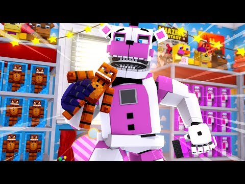 Funtime Freddy Goes To The Toy Store! Minecraft FNAF Roleplay