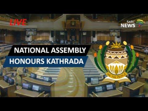 National Assembly honours Ahmed Kathrada/Land debate