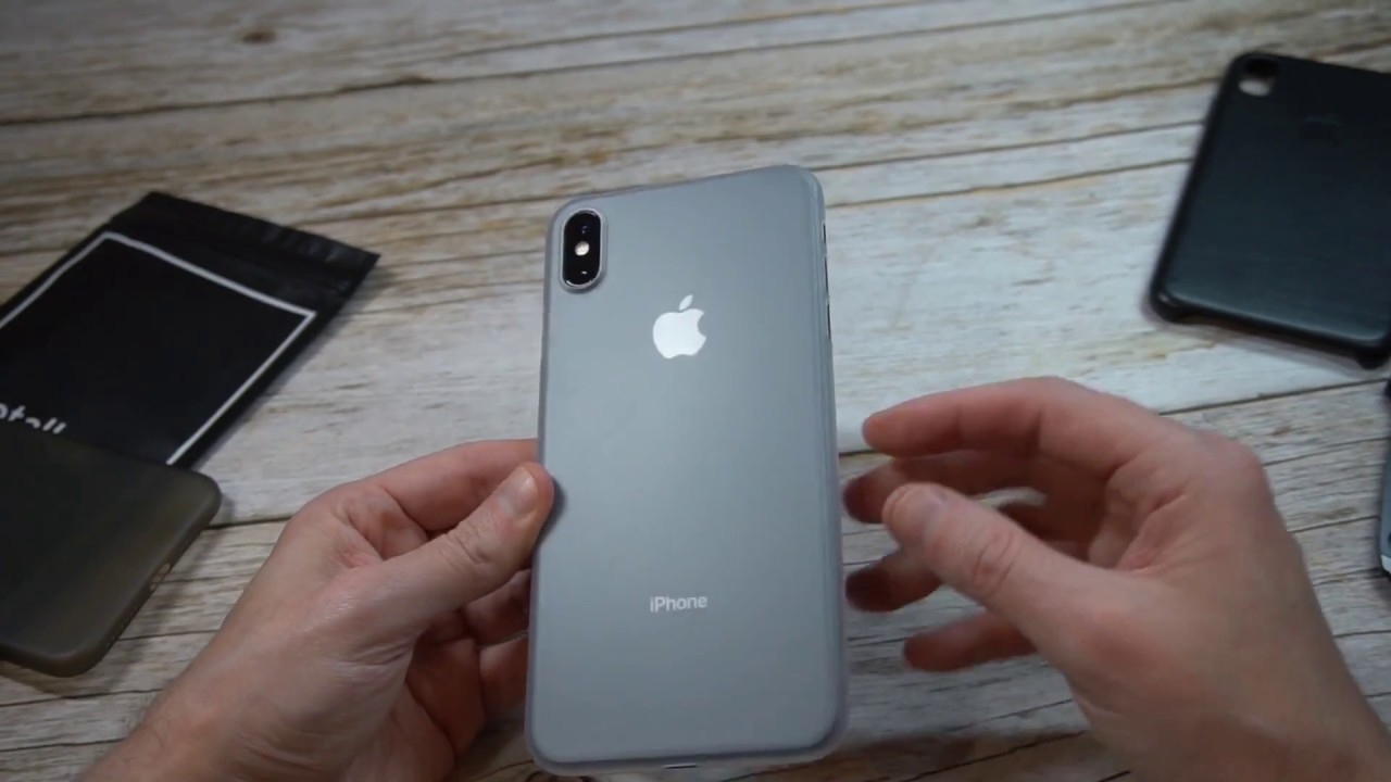official photos 4b664 379b3 totallee Ultra Thin iPhone XS Max Case Unboxing and Review