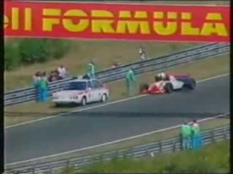 Taki Inoue hit by the medical car