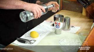 How To Make A Vesper (james Bond) Martini - Bartending Bootcamp
