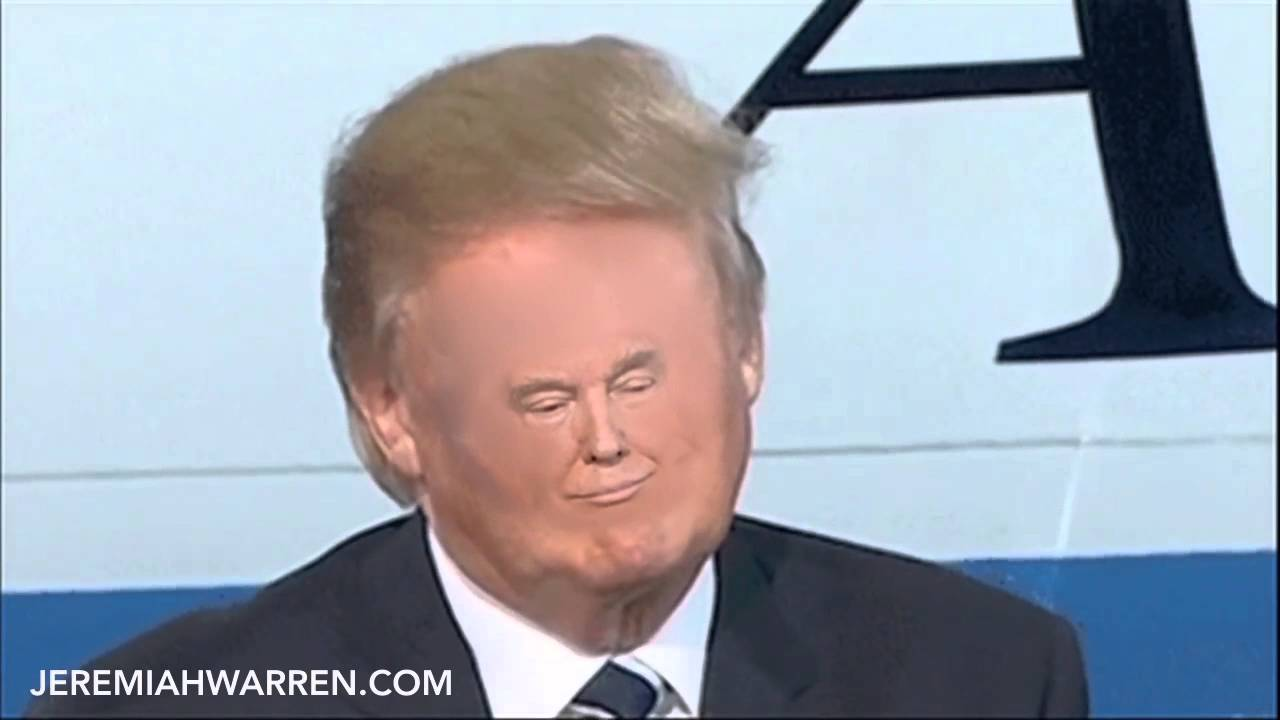 tiny face trump youtube