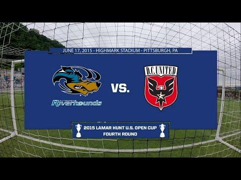 2015 Lamar Hunt U.S. Open Cup - Round 4: Pittsburgh Riverhounds vs. D.C. United