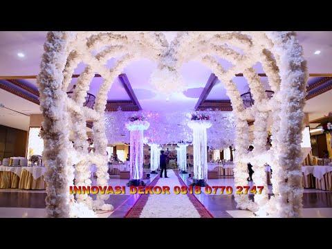 dekorasi pelaminan murah pernikahan gedung puri ardhya garini adat nasional internasional modern