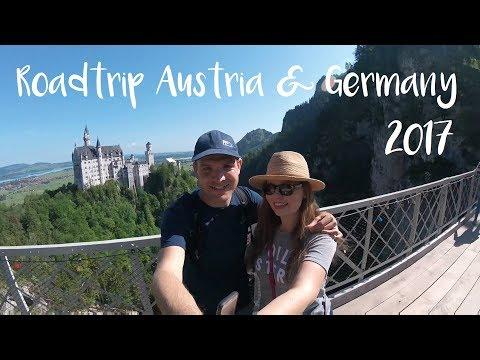 Roadtrip   Austria & Romantische Straße, Germany   GoPro HERO Session   Travel 2017