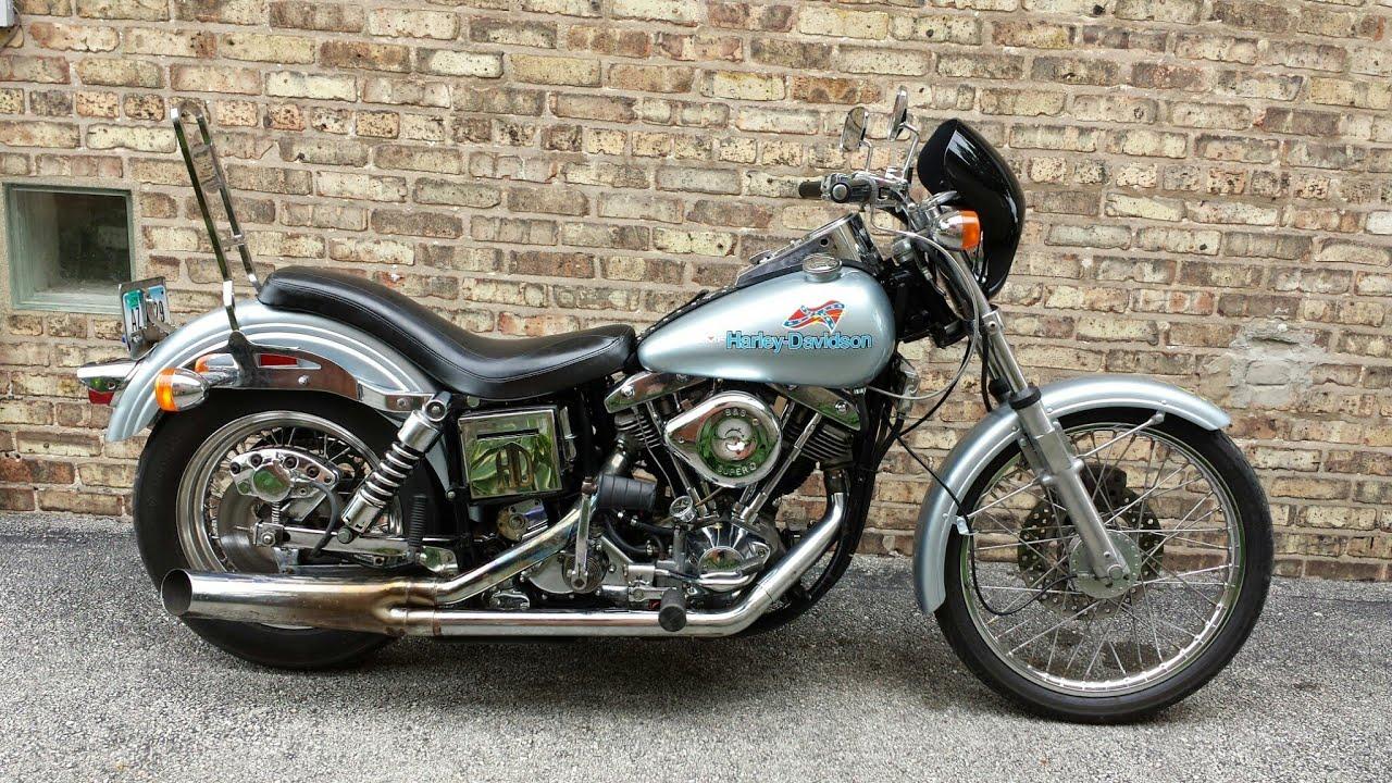 1977 Harley Davidson Fxe 1200 Superglide Shovelhead Youtube