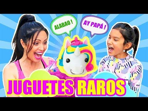 UNICORNIO QUE HABLA! Abriendo Juguetes RAROS Con TV ANA EMILIA | PLAY PLAY PLAY | SandraCiresArt