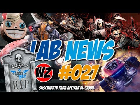 Lab News 27 - Onrush, Adiós Key Boss, Atomic Heart, Darkest D. DLC, Iron Danger - WZ Gamers Lab